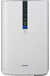 Sharp KC-850U Plasmacluster air purifier and humidifier combo