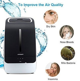 URPOWER 5L Ultrasonic Cool Mist Humidifier