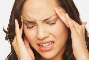 headache caused by mildew