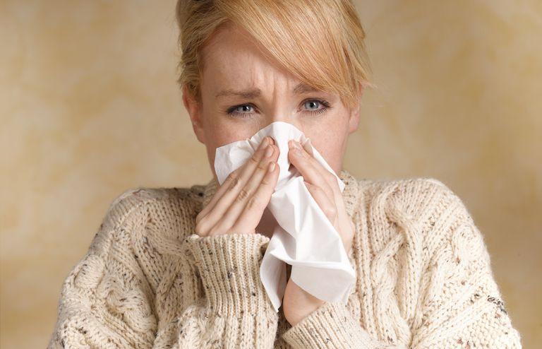 Sneezing from pet allergies