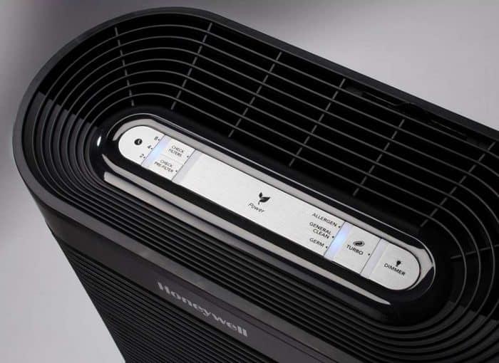 Honeywell HPA300 air purifier - buttons