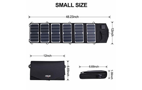 TOPDC Solar Charger