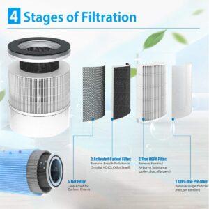 Renpho air purifier-filtration